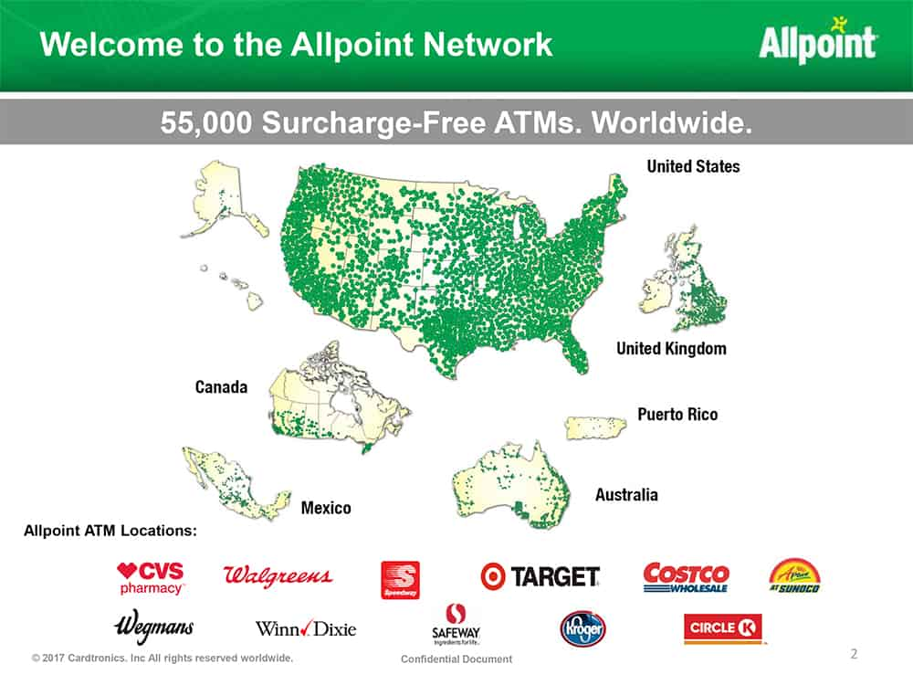 Welcome to the Allpoint Network